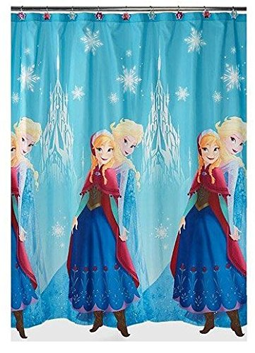 Frozen Anna and Elsa Shower Curtain