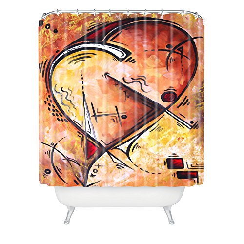 DENY Designs Madart Wild at Heart Shower Curtain