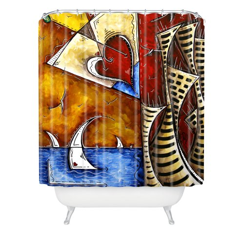 DENY Designs Madart Heart Of A Martini Shower Curtain