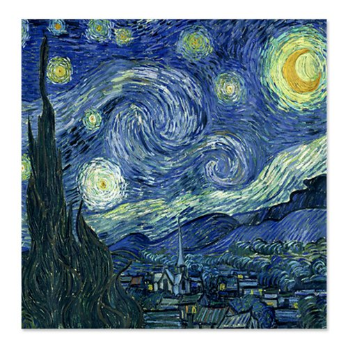 Van Gogh - Starry Night Amazing Shower Curtain for Sale