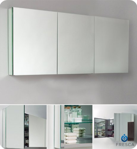 Large Bathroom Medicine Cabinet with Mirrors