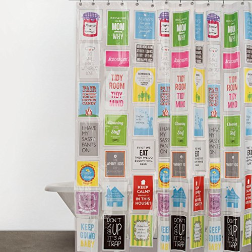 Cool Shower Curtain for Teens