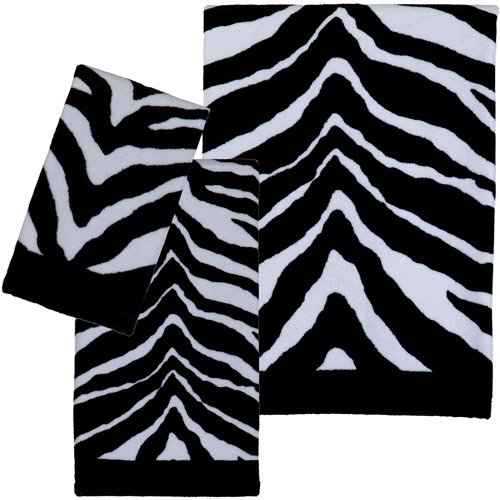 Fun Zebra Pattern Towel Set