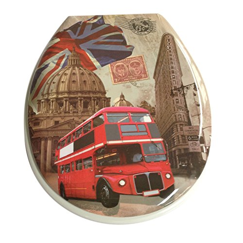 London Red Bus Novelty Toilet Seat