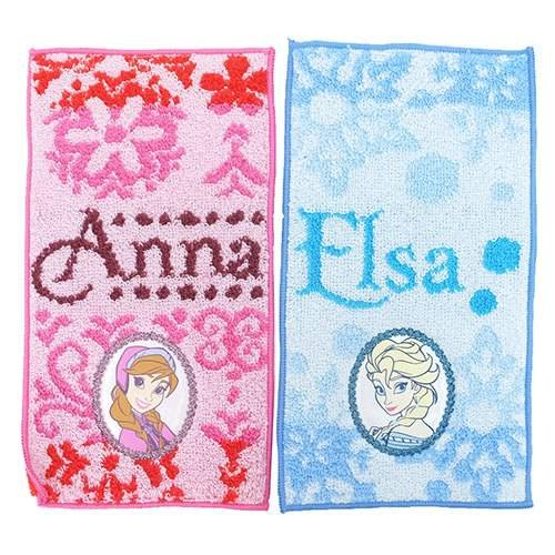 Anna and Elsa Frozen Pocket Towels Beloved Disney Characters
