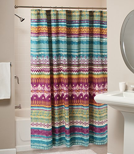 Affordable Bohemian Style Polyester Shower Curtain
