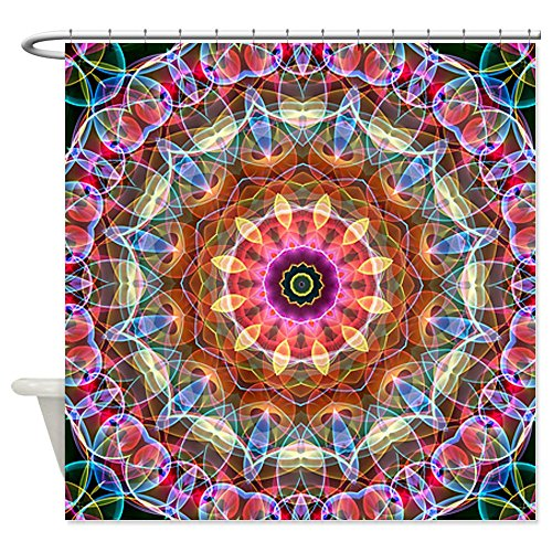 Colorful Mandala Shower Curtains