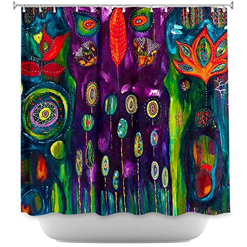 Colorful Decorative Owl Shower Curtains The Believers Garden
