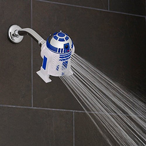 Fun Star Wars R2-D2 3-Spray Showerhead