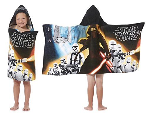 Star Wars Episode VII Hooded Towel, Kylo and Stormtroopers