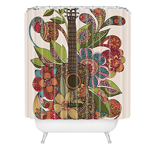 DENY Designs Valentina Ramos Ever Guitar Shower Curtain