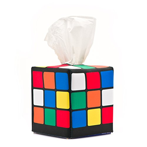 Rubik's Cube Tissue Caddy as Seen on the Big Bang Theory